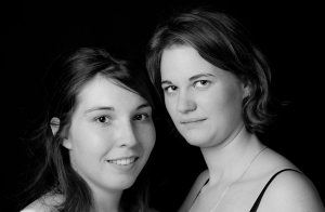 Virginie et Gaïa portrait
